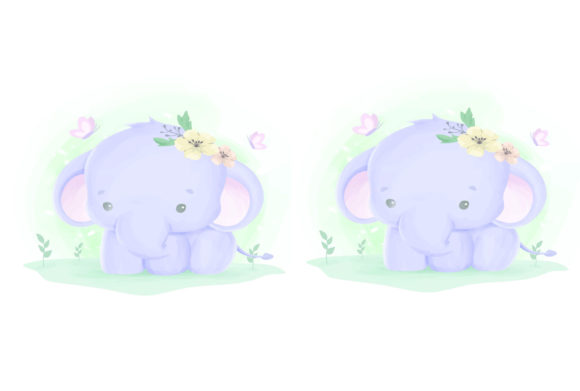 Print on Demand: Cute Animal 10 Graphic Illustrations By info.kankhem - Image 2