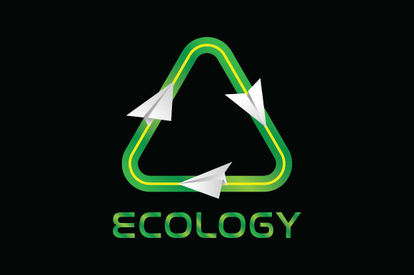 Print on Demand: Ecology Logo Graphic Graphic Templates By curutdesign