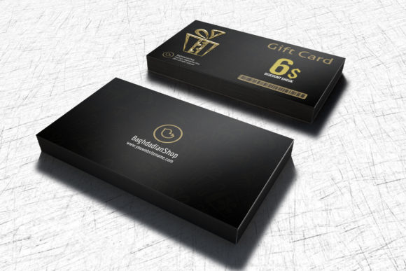 Print on Demand: Gift Voucher Card Template Graphic Print Templates By OWPictures - Image 2