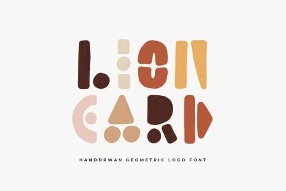 Print on Demand: Lion Card Display Font By Sameeh Media
