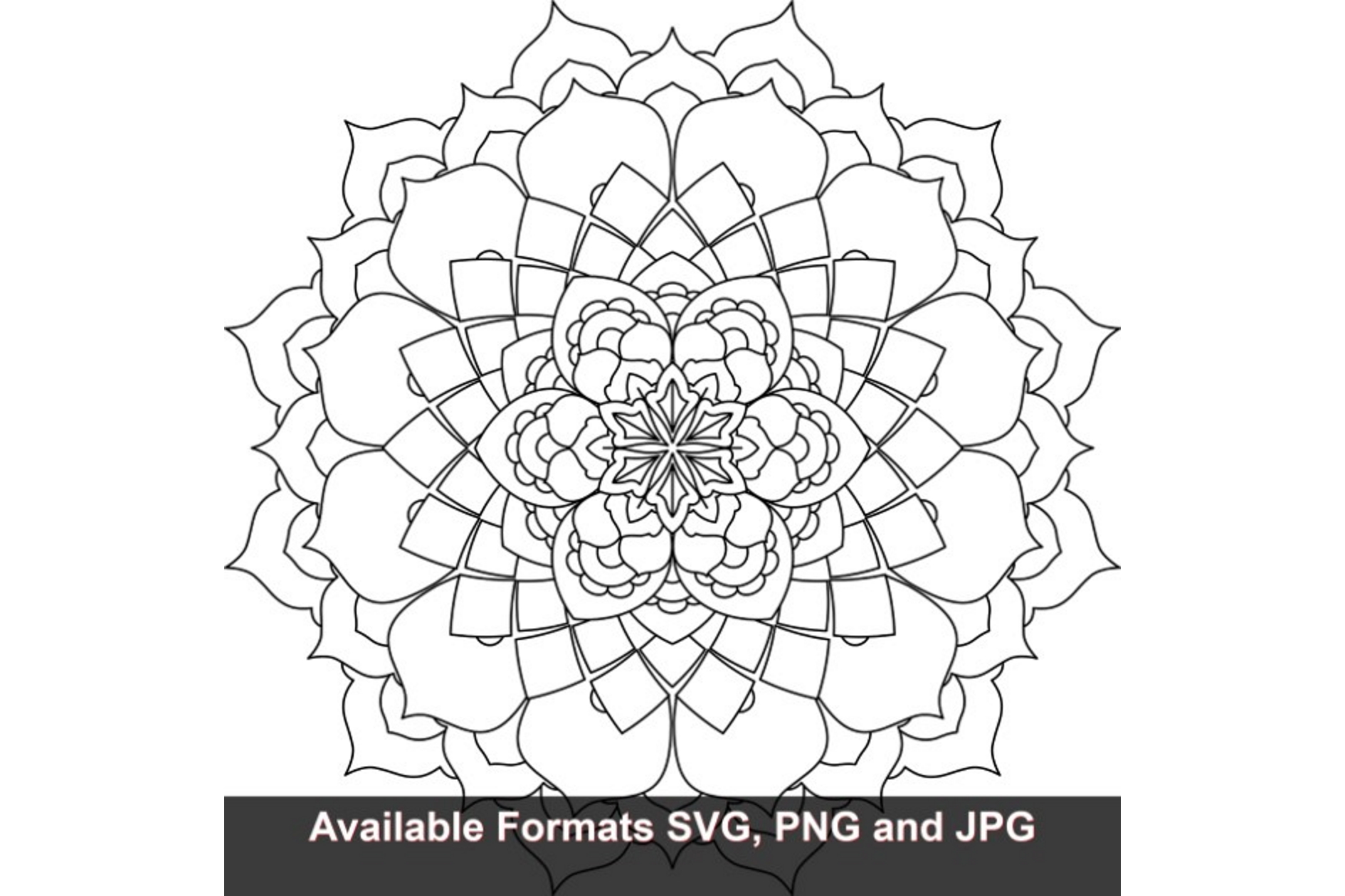 Download Free Mandala Art 802 Graphic Graphic By Iwantto Us Creative Fabrica for Cricut Explore, Silhouette and other cutting machines.