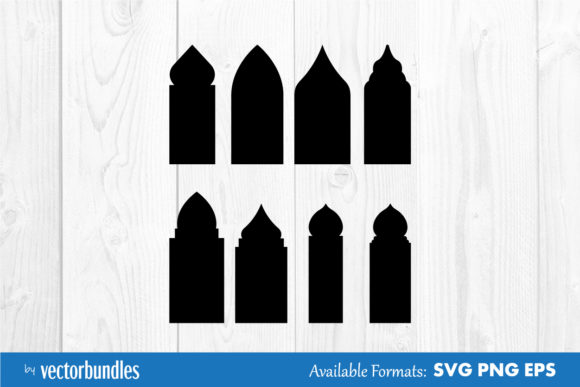 Download Free Mosque Window Clip Art Graphic By Vectorbundles Creative Fabrica for Cricut Explore, Silhouette and other cutting machines.