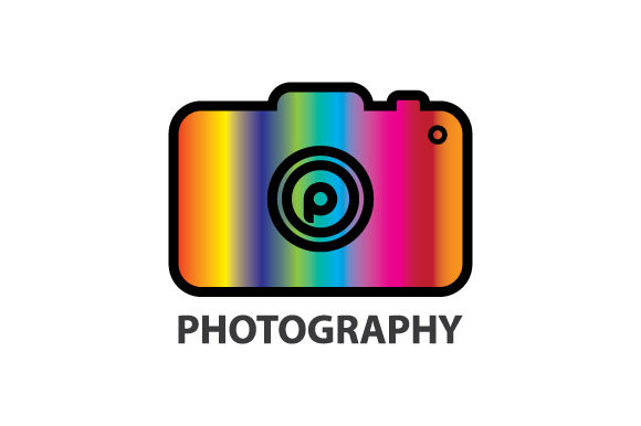 Print on Demand: Photograpy Logo Graphic Graphic Templates By curutdesign
