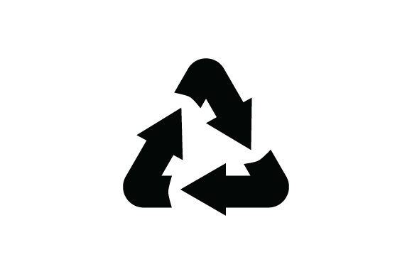 Print on Demand: Recycle Logo Graphic Graphic Templates By curutdesign