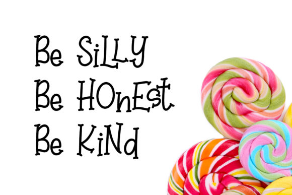 Print on Demand: Sweet Lollipop Display Font By dmletter31 - Image 5
