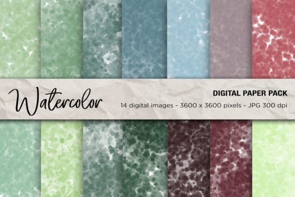 Download Free Watercolor Digital Papers Graphic By Mertakdere19 Creative Fabrica for Cricut Explore, Silhouette and other cutting machines.
