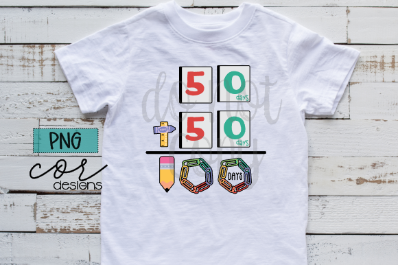Download Free 100 Days Of School Graphic By Designscor Creative Fabrica for Cricut Explore, Silhouette and other cutting machines.