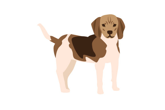 Treeing Walker Coonhound Dogs Craft Cut File By Creative Fabrica Crafts