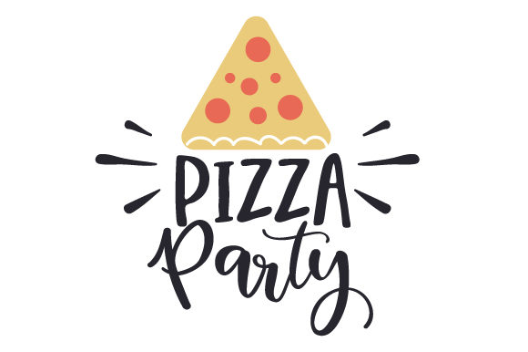 Pizza Party Food & Drinks Craft Cut File By Creative Fabrica Crafts