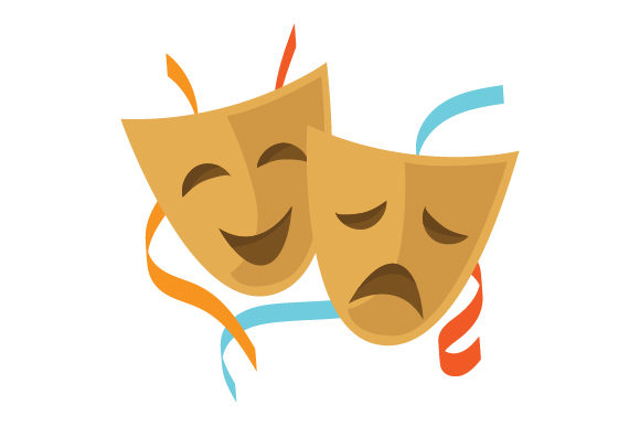 Download Free Drama Masks Svg Cut File By Creative Fabrica Crafts Creative SVG Cut Files