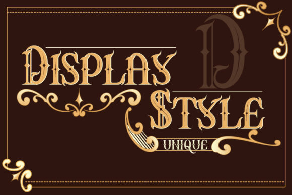 Print on Demand: Asteric Display Font By Black Lotus - Image 2