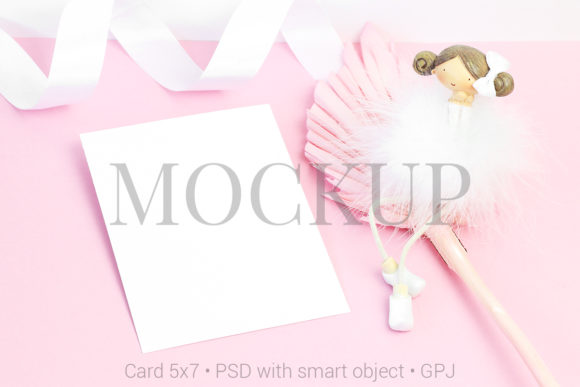 Download Free Mockup Template Card Mockup Greeting Car Graphic By Pawmockup for Cricut Explore, Silhouette and other cutting machines.