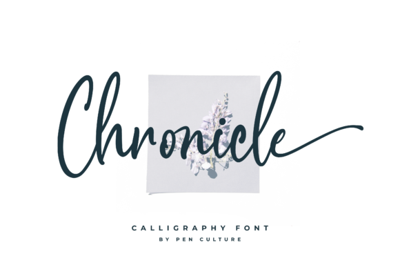 Print on Demand: Chronicle Script & Handwritten Font By Pen Culture