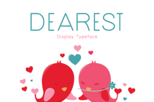 Print on Demand: Dearest Display Font By Instagram Fonts
