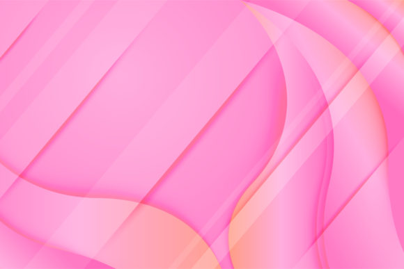 Print on Demand: Gradient Pink Wave Background Graphic Backgrounds By noory.shopper