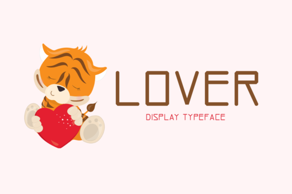 Print on Demand: Lover Display Font By Instagram Fonts