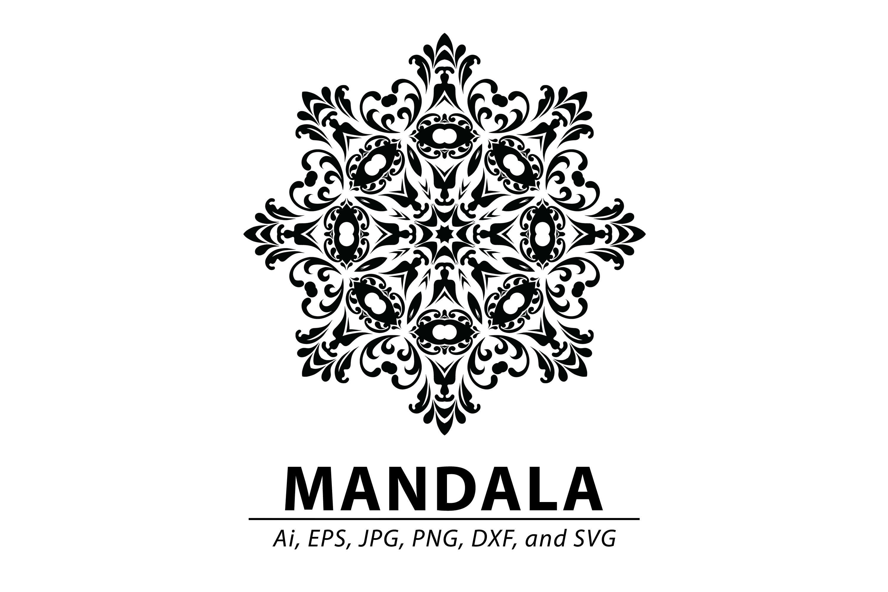 Download Free Mandala Graphic By Redsugardesign Creative Fabrica SVG Cut Files