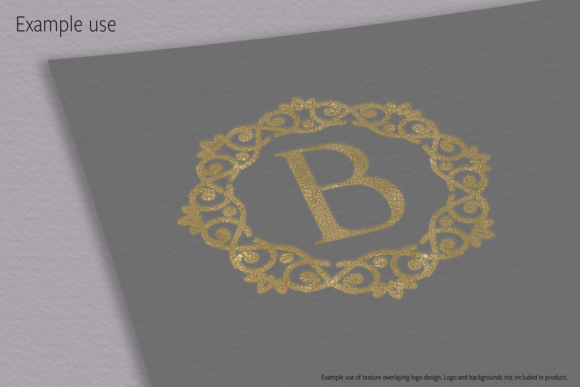 Print on Demand: Metallic Gold Textures Graphic Textures By JulieCampbellDesigns - Image 10