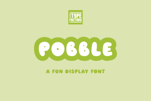 Print on Demand: Pobble Display Font By Little Type Factory