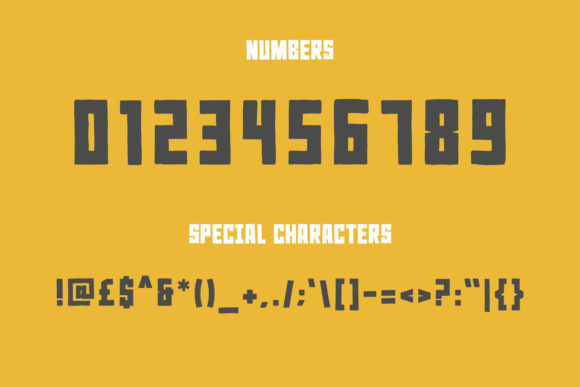 Rocky Ryder Font Preview