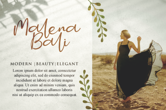 Print on Demand: Smitta Bali Script & Handwritten Font By LetterBeary - Image 3