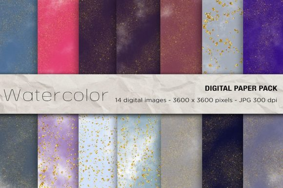 Space Digital Papers Graphic Backgrounds By mertakdere19