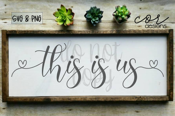 Print on Demand: This is Us Graphic Crafts By designscor