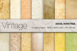 Vintage Digital Papers Graphic Textures By mertakdere19