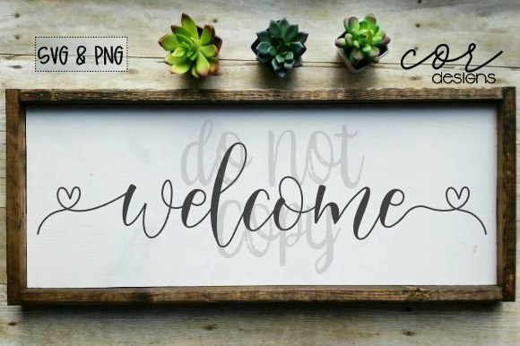 Print on Demand: Welcome Graphic Crafts By designscor