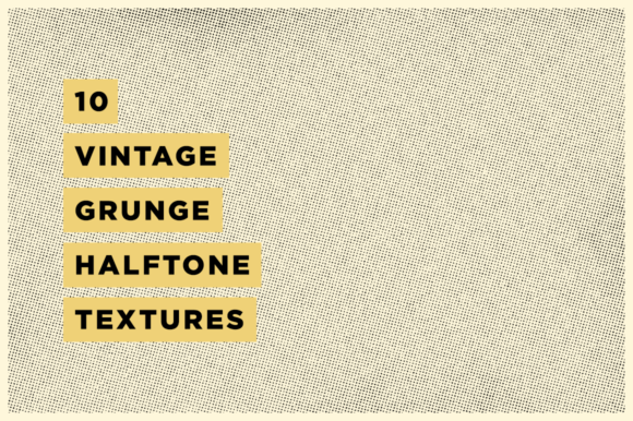 Download Free 10 Vintage Grunge Halftone Textures Graphic By Clintenglish for Cricut Explore, Silhouette and other cutting machines.