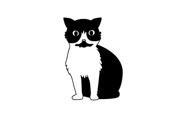 Download Free Tuxedo Cat Svg Cut File By Creative Fabrica Crafts Creative for Cricut Explore, Silhouette and other cutting machines.