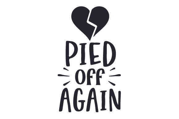 Pied Off Again Svg Cut File By Creative Fabrica Crafts