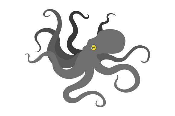 Download Free Kraken Svg Cut File By Creative Fabrica Crafts Creative Fabrica for Cricut Explore, Silhouette and other cutting machines.