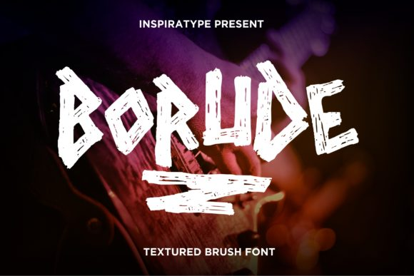 Print on Demand: Borude Display Font By InspiraType
