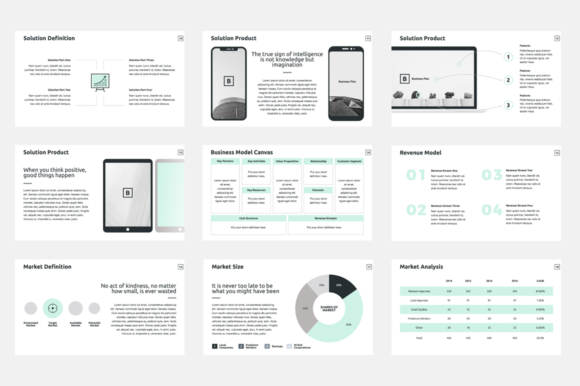 Download Free Business Plan Keynote Template Graphic By Jetztemplates for Cricut Explore, Silhouette and other cutting machines.