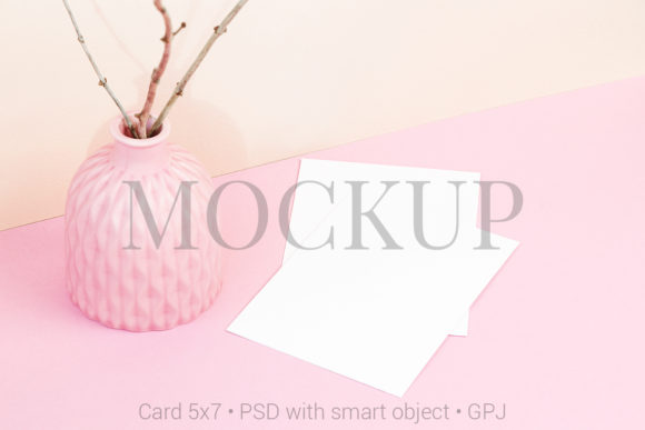 Download Free Card Mockup On Notebook Graphic By Pawmockup Creative Fabrica for Cricut Explore, Silhouette and other cutting machines.