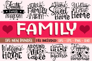 Print on Demand: Family Design Bundle Graphic Crafts By OrinDesign