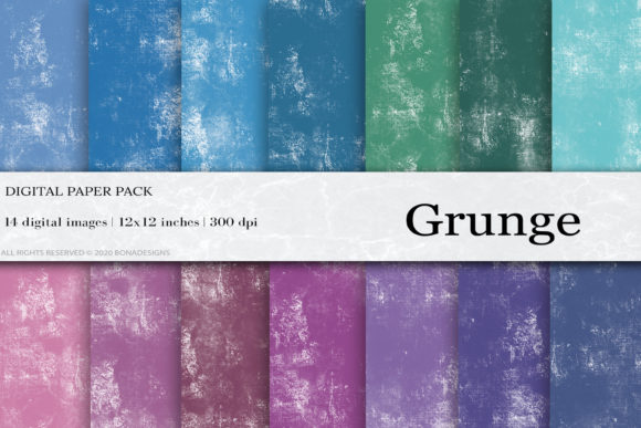 Grunge Digital Papers Graphic Textures By damlaakderes