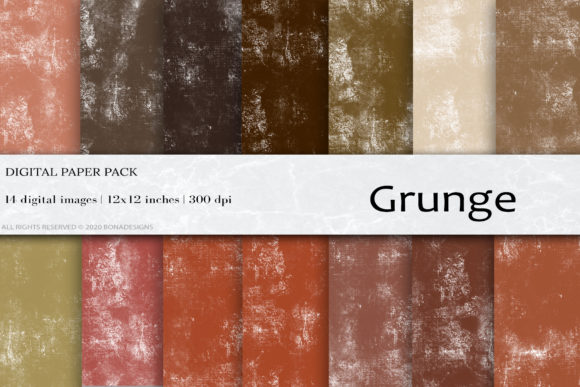 Grunge Digital Papers Graphic Backgrounds By damlaakderes