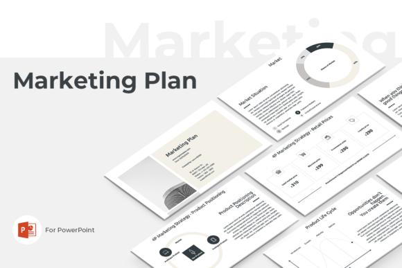 Marketing Strategy Powerpoint Template Graphic By Jetztemplates