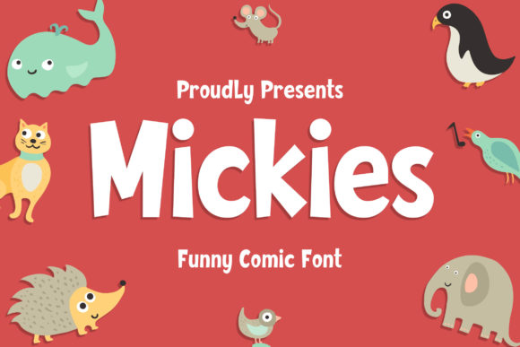 Print on Demand: Mickies Exhibición Fuente Por Blankids Studio