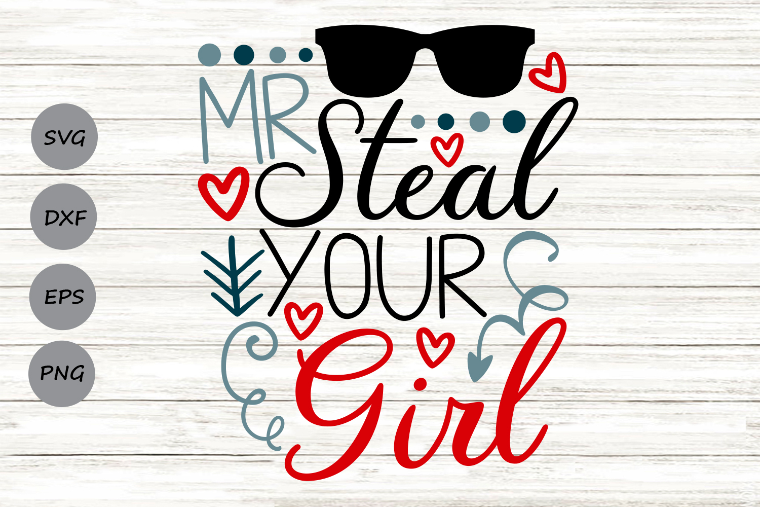 Download Free Mr Steal Your Girl Graphic By Cosmosfineart Creative Fabrica for Cricut Explore, Silhouette and other cutting machines.