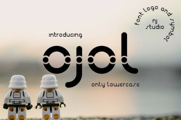 Print on Demand: Ojol Display Font By NJStudio