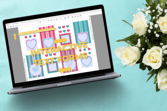 Download Free Printable Valentine Tags Editable Pdf Graphic By Print Cut Hang Creative Fabrica for Cricut Explore, Silhouette and other cutting machines.