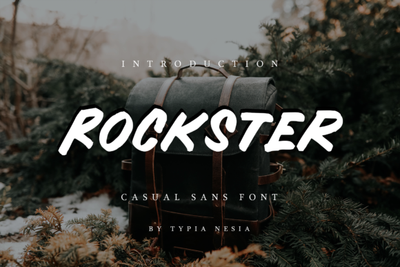 Print on Demand: Rockster Display Font By Typia Nesia