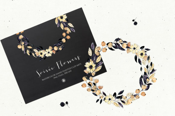 Print on Demand: Soiree Flowers Graphic Illustrations By webvilla - Image 2