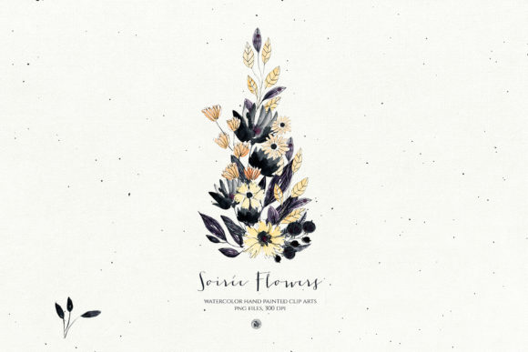 Print on Demand: Soiree Flowers Graphic Illustrations By webvilla - Image 4