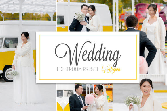 Wedding Lightroom Presets Graphic Actions & Presets By Регина Аврамова