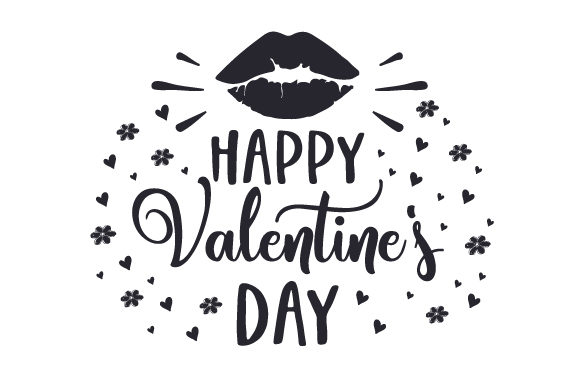 Happy Valentine's Day Valentine's Day Craft Cut File By Creative Fabrica Crafts - Image 2