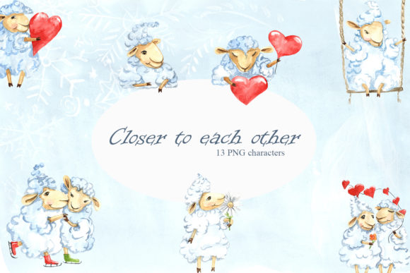 Print on Demand: Closer to Each Other Graphic Illustrations By laffresco04